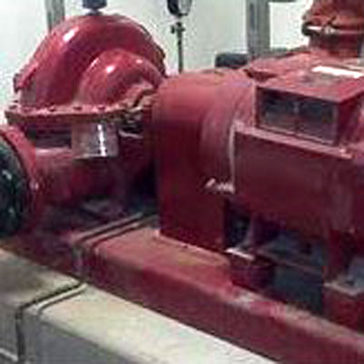 Fire pump inspection in Columbus Ohio