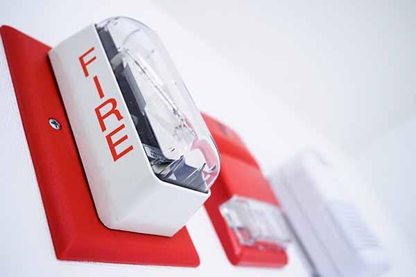 Fire alarm inspection in Columbus, Ohio